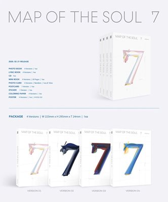 BTS -MAP OF THE SOUL 7