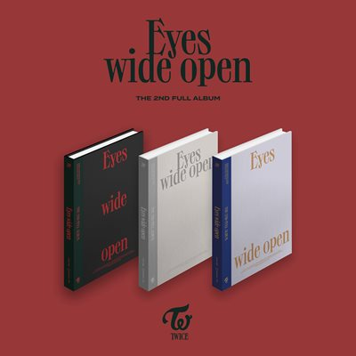 [Kpop Official]Twice - Eyes wide open [Album Vol.2]