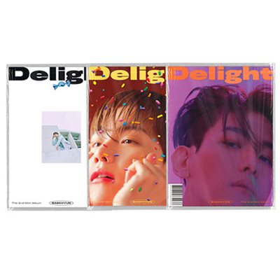 [Kpop Official]BAEK HYUN - Delight [Mini Album Vol.2] (Random version) + بوستر