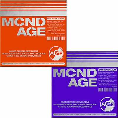 MCND MCND AGE 2nd Mini Album with poster